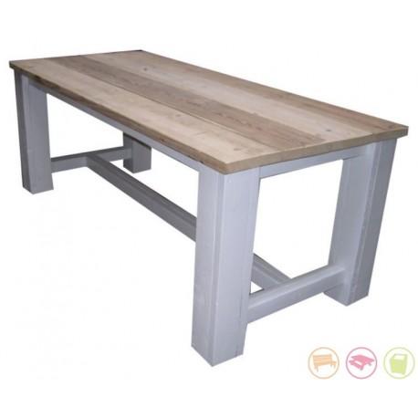 Steigerhouten tafel Levi