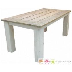 Steigerhouten tafel Luuk