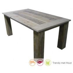 Steigerhouten tafel Liam