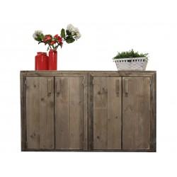 Steigerhouten dressoir Basic