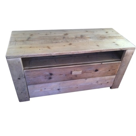 Steigerhouten tv-meubel Conny