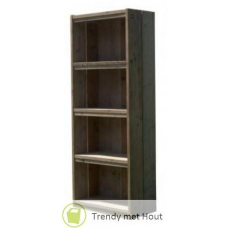 steigerhouten kast boekenkast vince